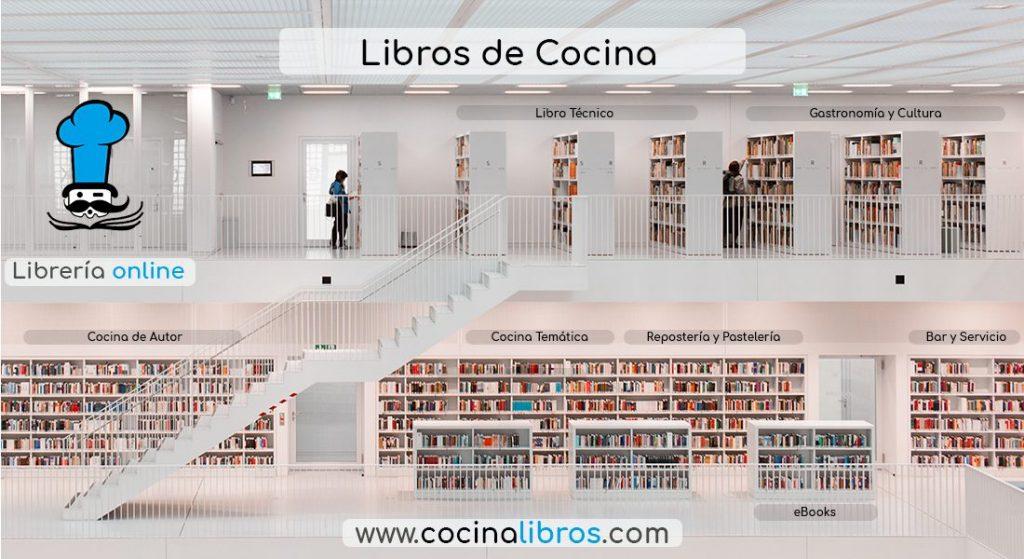 Librería especializada en Cocina Profesional www.cocinalibros.com