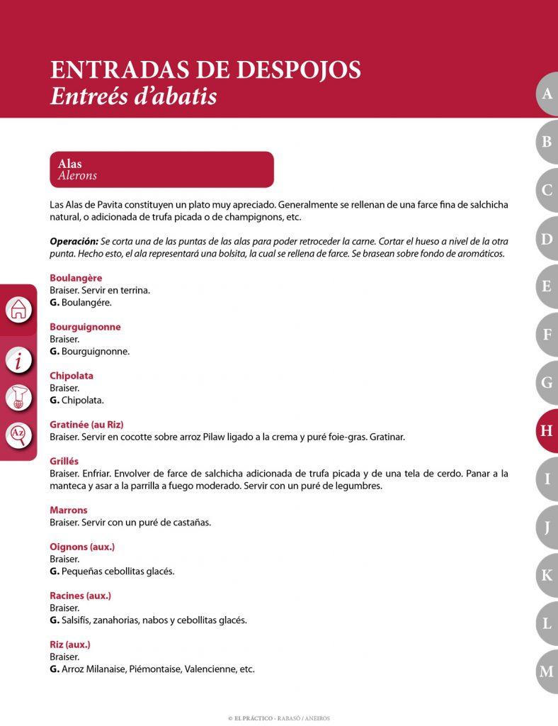 El PRACTICO 1.0 - Edición Digital eBook - H - Entradas de despojos