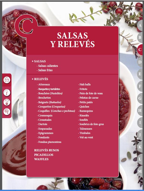 El Práctico de Cocina 6500 Recetas C – Salsas y Relevés