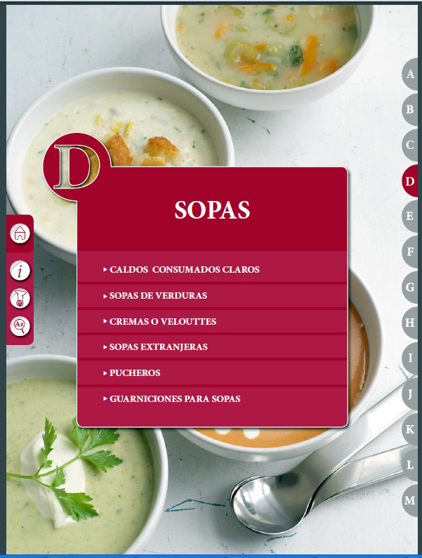 El Práctico de Cocina 6500 Recetas D – Sopas