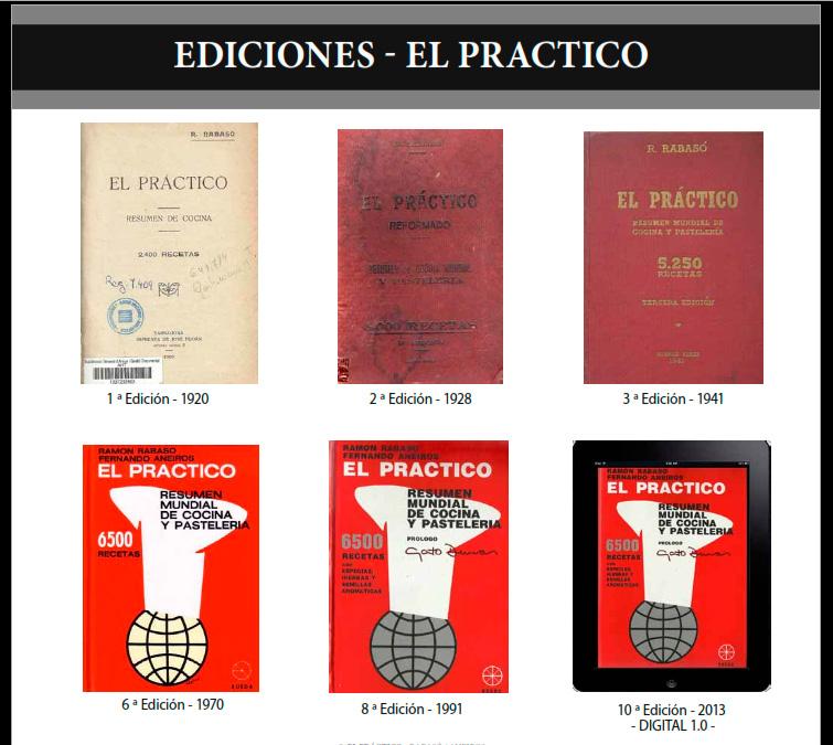 """LA OBRA """"EL PRÁCTICO"""" – 6500 Recetas - Ediciones de la obra"""