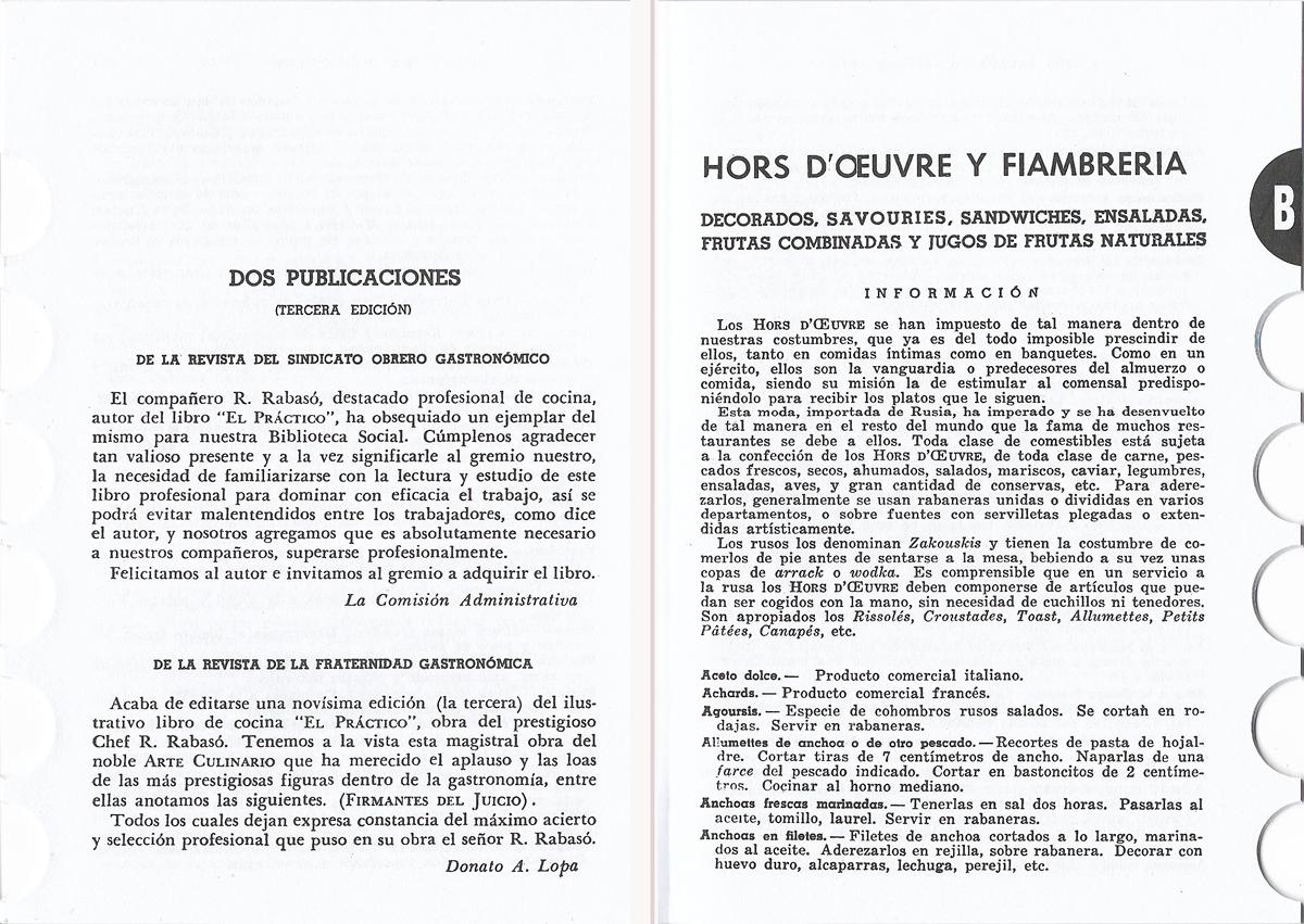 Ediición papel 9ª Libro El PRACTICO - 6500 Recetas- Resumen mundial de Cocina y Pastelería