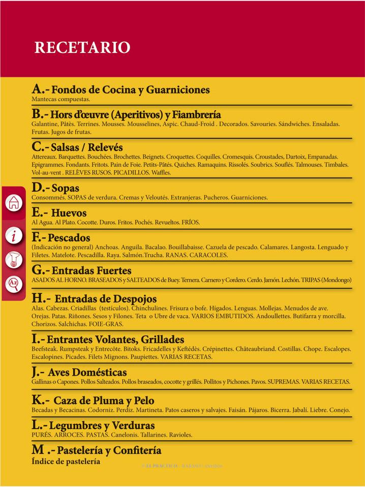El PRACTICO 1.0 - Edición Digital eBook - Recetario
