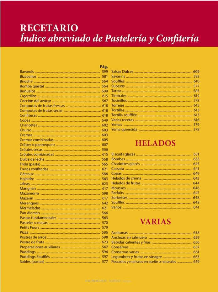El PRACTICO 1.0 - Edición Digital eBook - Recetario de Pastelería