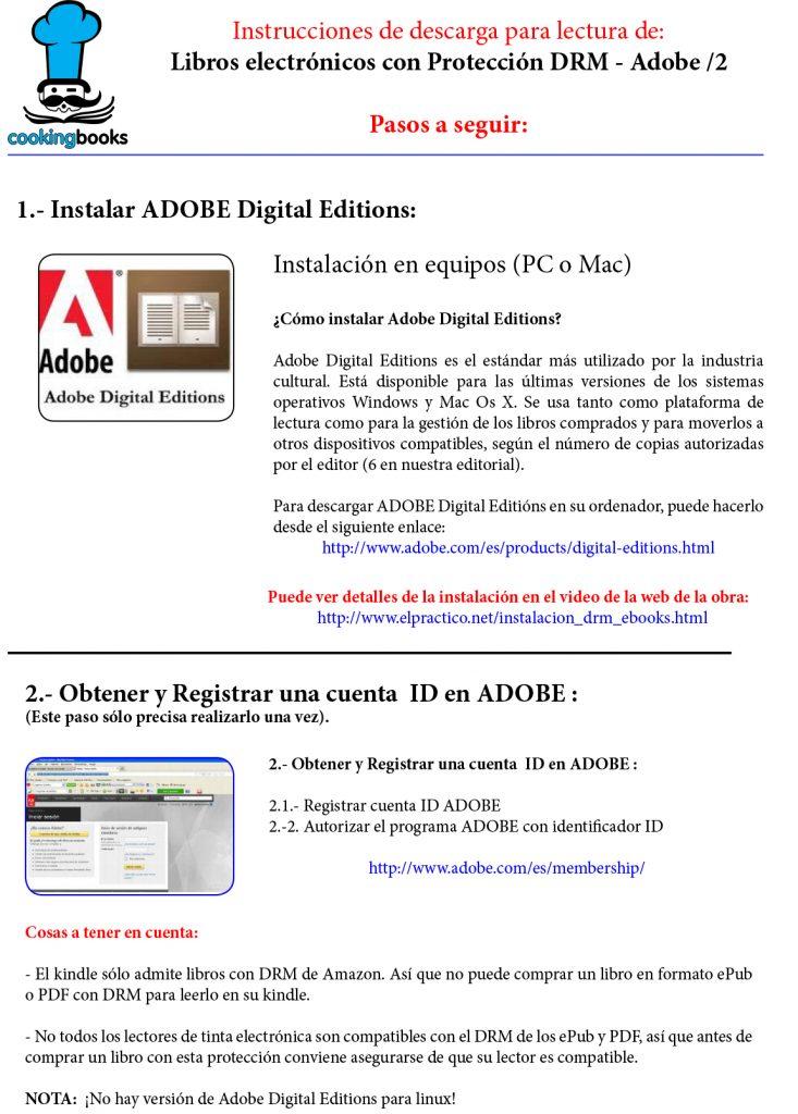 Instalar libro El Práctico, 6500 recetas - Edición digital