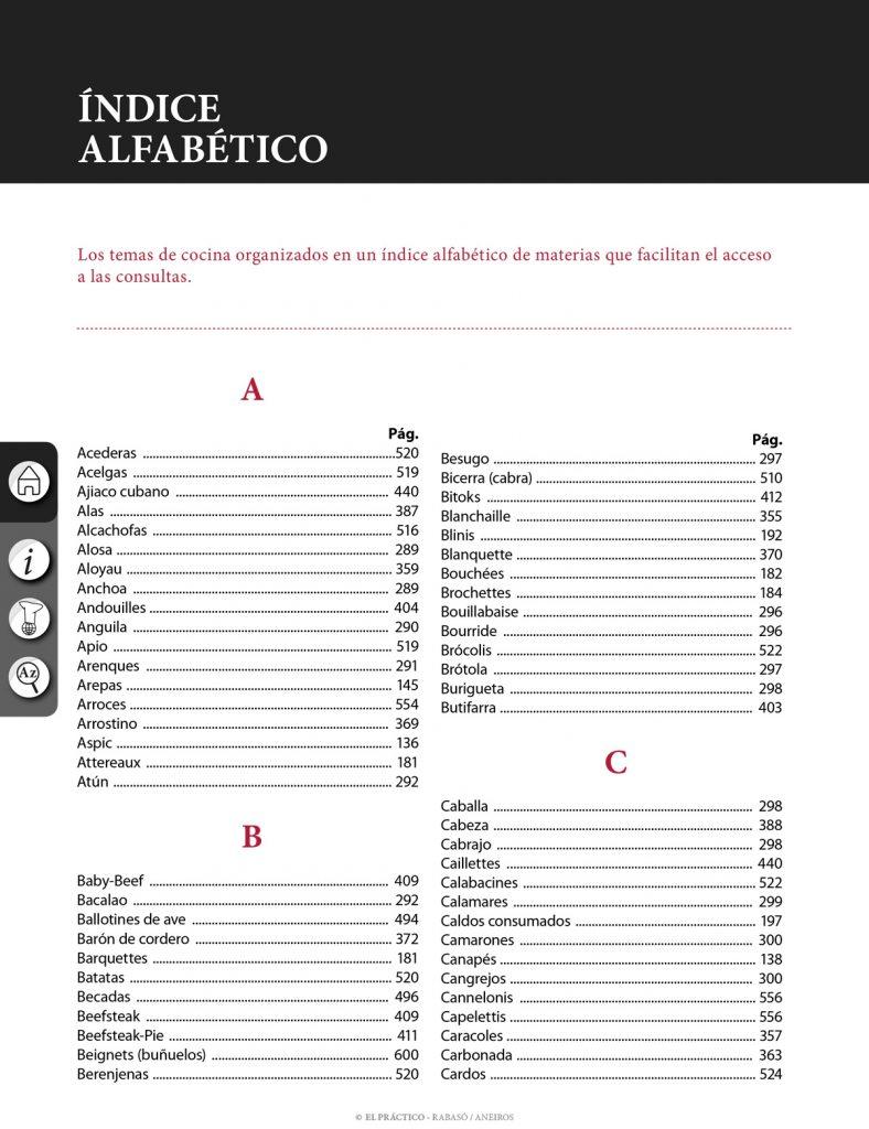 El PRACTICO 1.0 - Edición Digital eBook - Apéndices - Índice