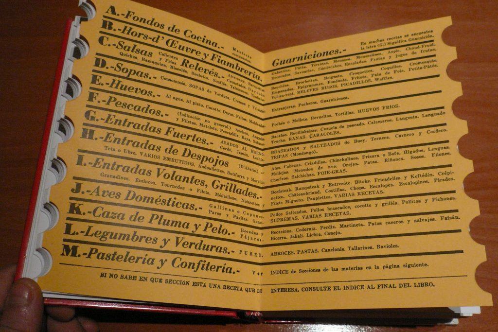 """Edición en papel libro de cocina """"EL Práctico"""" - Rabasó /Aneiros - Editorial RUEDA"""
