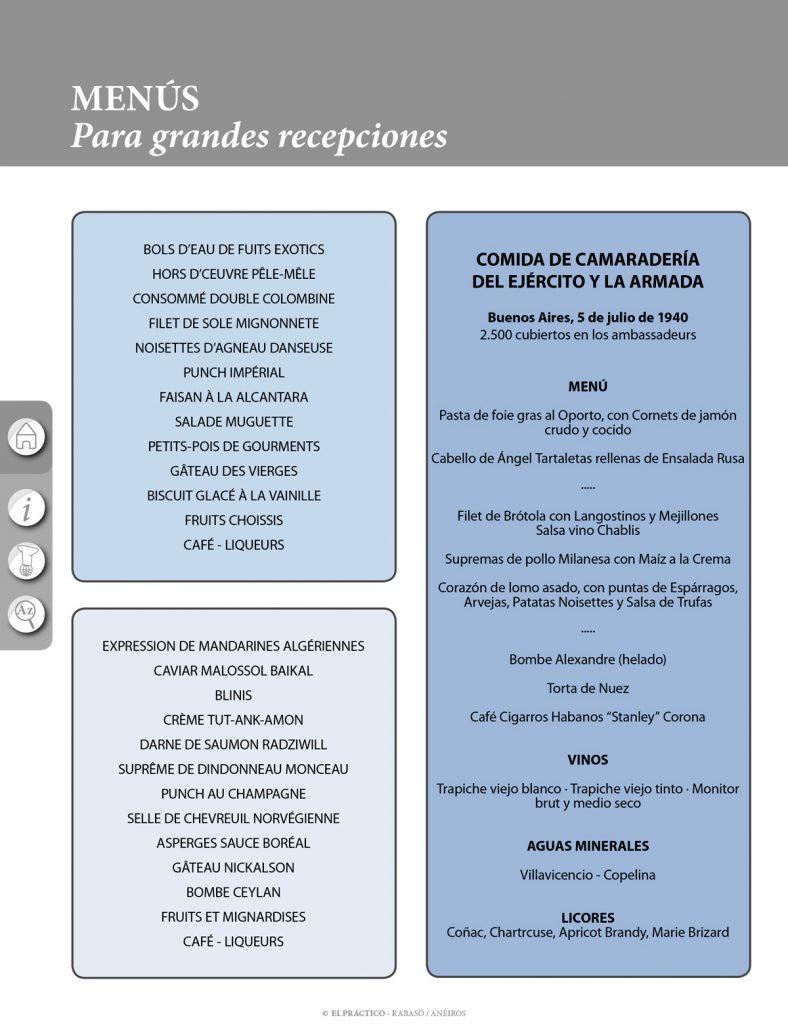 El PRACTICO 1.0 - Edición Digital eBook - Informaciones Menús