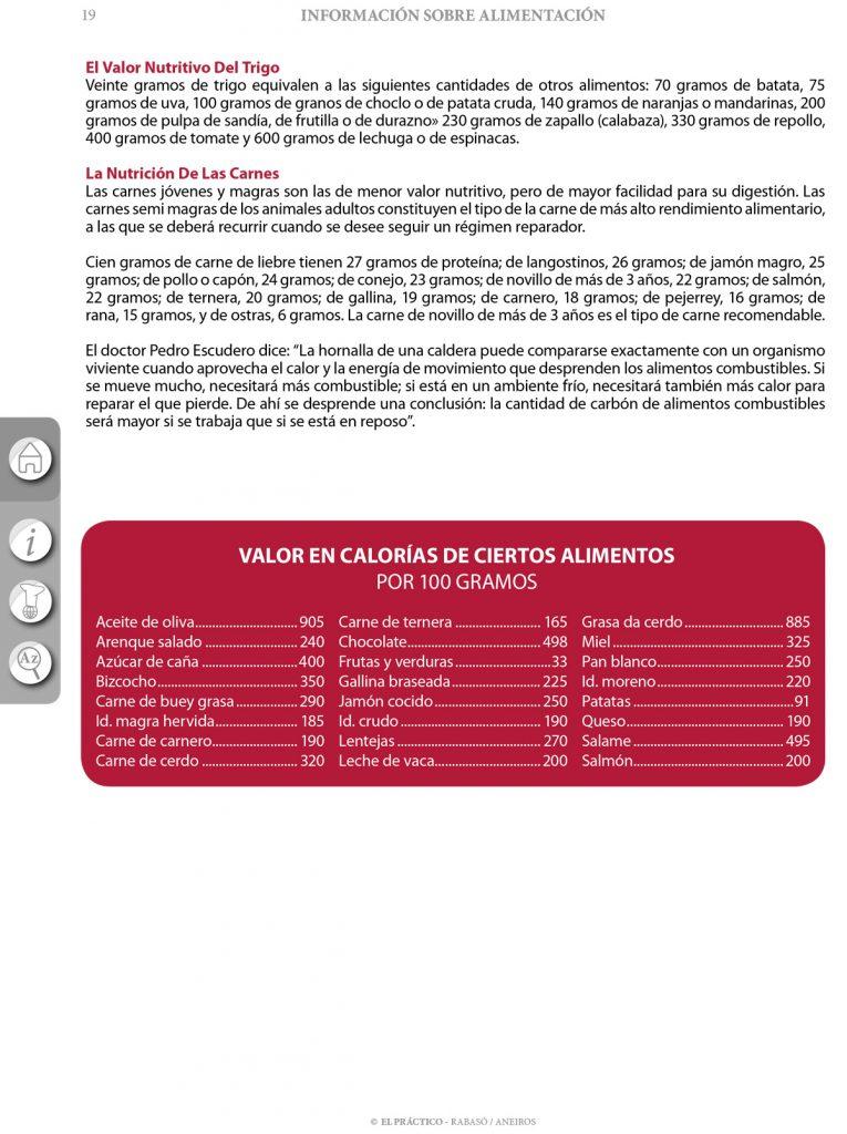 El PRACTICO 1.0 - Edición Digital eBook - Informaciones Alimentación