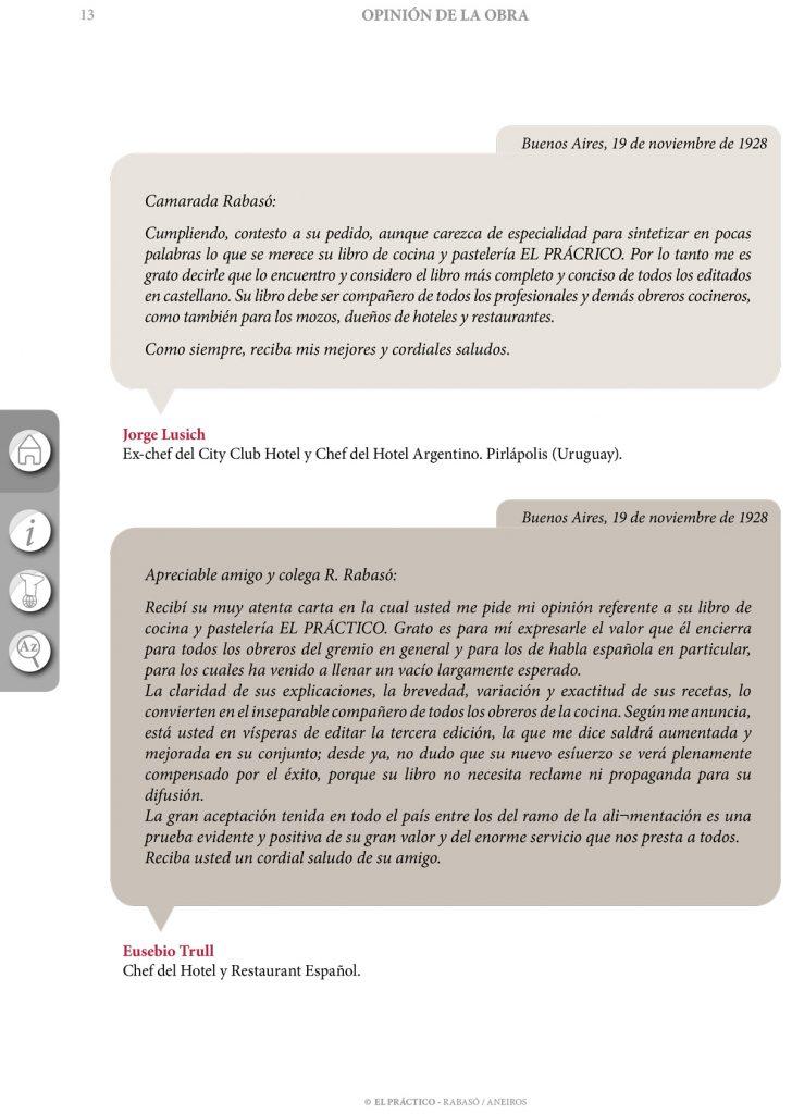 """Opiniones libro de cocina """"El Práctico"""" RYEDA - Ramon Rabaso / Fernando Aneiros"""
