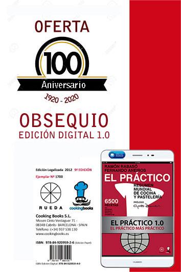 Oferta EL PRACTICO 100 años = PAPEL + DIGITAL+ ENVÍO ... = 39,00 €